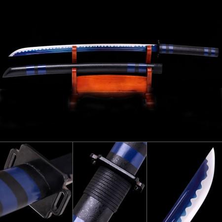 Final Fantasy Masamune Sephiroth's Sword High Manganese Steel With Blue Blade