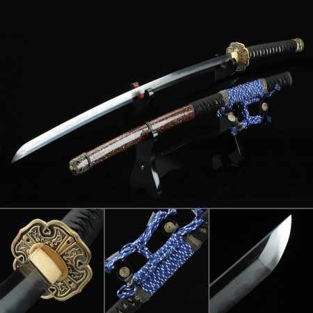 Battle Ready Sword, Authentic Japanese Tachi Sword 1000 Layer Folded Steel Tactical Swords