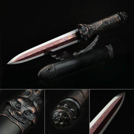 Double Edge Sharp Tanto Hamidashi Short Straight Swords