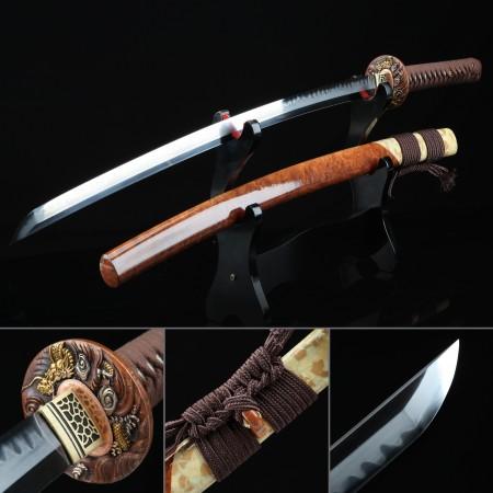 Battle Ready Katana, Authentic Japanese Sword T10 Carbon Steel Sturdy Tactical Swords