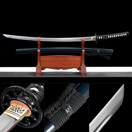 Sakabato Reverse Blade Katana Sword, Rurouni Kenshin Katana Sword 1000 Layer Folded Steel Full Tang