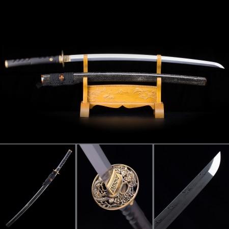 Handmade High-performance 1000 Layer Folded Steel Real Rayskin Japanese Katana Samurai Swords