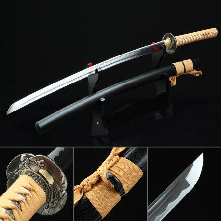 Handmade Full Tang Japanese Samurai Sword Katata Sword