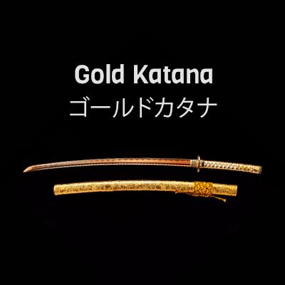 Gold Katana