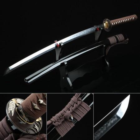 High-performance Handmade T10 Steel Hand Sharpening Real Hamon Real Japanese Katana