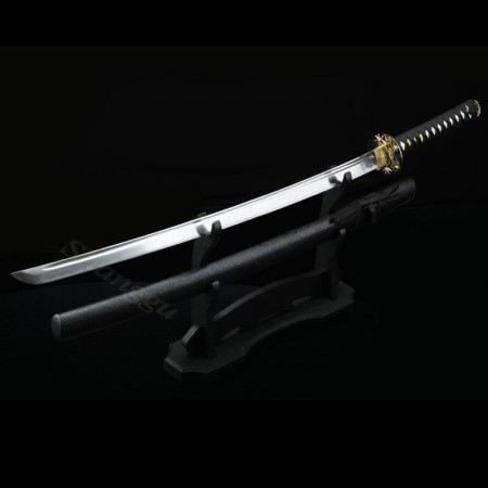 Japanese Sword, Handmade Japanese Katana Swords With Black Scabbard