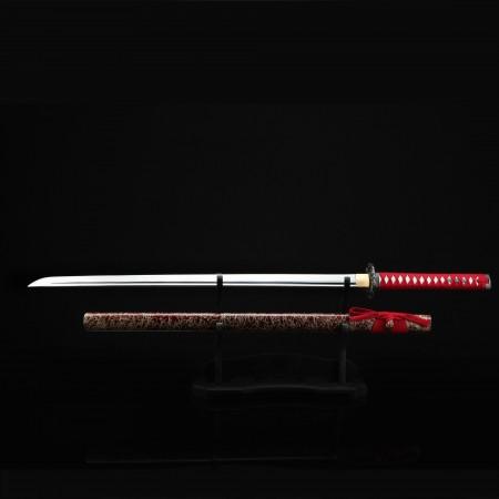 Handmade Black Weever Tsuba Real Katana Japanese Samurai Swords