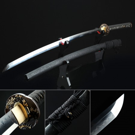 Battle Ready Katana, Authentic Japanese Katana Pattern Steel Sturdy Tactical Swords