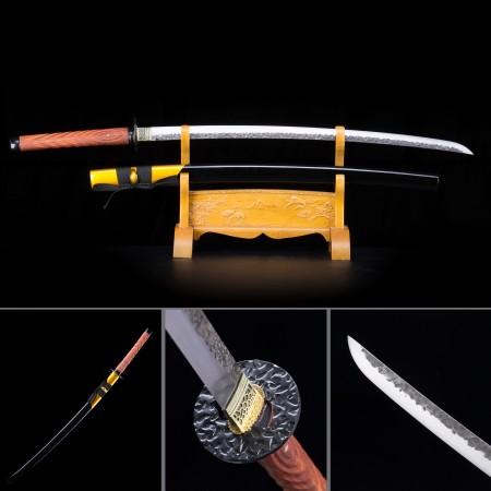 Handmade High Manganese Steel Snow Blade Theme Full Tang Real Japanese Katana Samurai Swords