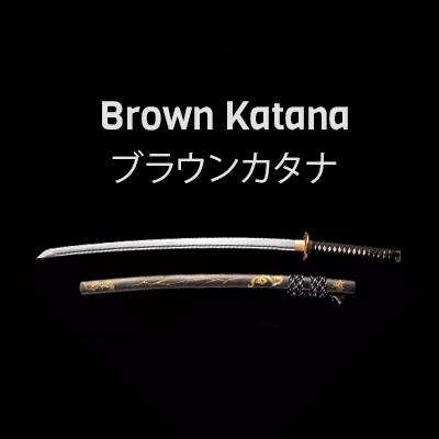 Brown Katana