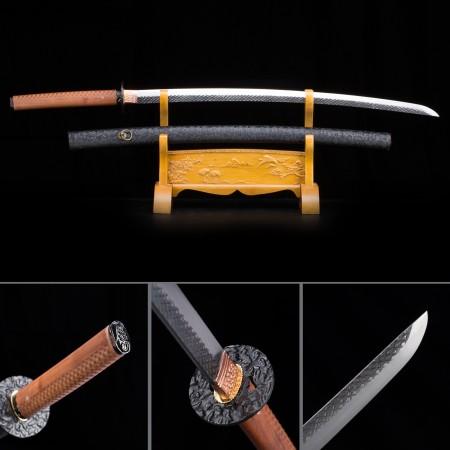 Handmade High Manganese Steel Gray Blade Full Tang Real Japanese Katana Samurai Swords